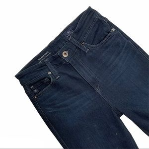 AG Mila Super High Rise Skinny Ankle Jean Size 25
